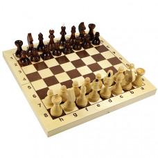 """Игра настольная """"Шахматы"""" деревянные (поле 29*29см), Р94502"""