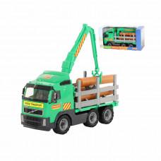 """Volvo"", автомобиль-лесовоз (в коробке) 9531"