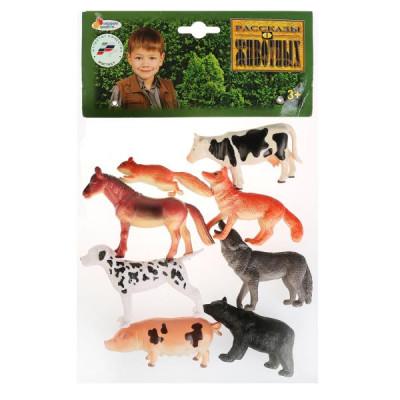 """""""Играем вместе"""" Набор из 8 животных(дикие и домашние)PH990308A15"""