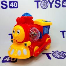 Игрушка н/б Lught Train 999-1