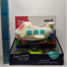 Игрушка муз. Самолетик н\б, Kaichi, 999-139B