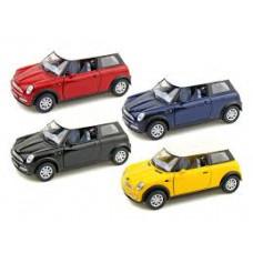 Машина метал 1:28 Mini Cooper А35351