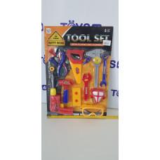 Набор Строительных инструментов на карт. , 004, 546022