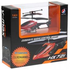 Вертолет р/у, со светом, цвет в ассорт. HX721, B1263405