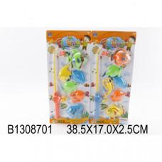 Игра рыбалка с аксесс., цвет в ассорт. SFY-C12 на карт B1308701