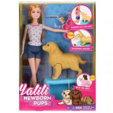 Кукла 29см с собакой YT033, B1709203