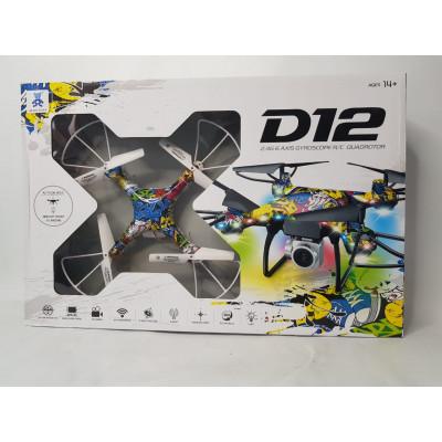Квадрокоптер на Р/У D12