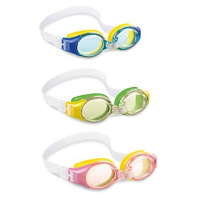 Очки для плавания Junior Goggles, 3 цвета 3-8 лет, И55601