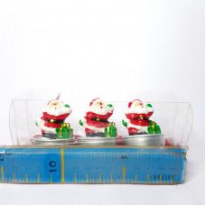 Набор свечей Санта-Клаусы. 50-003  NA-8