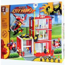Конструктор CITY HERO 558 дет  QL0221