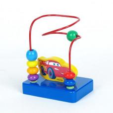 Деревянная игрушка ИГРАЕМ ВМЕСТЕ DISNEY ТАЧКИ ЛАБИРИНТ С ФИГ. SM-L-CARMQ