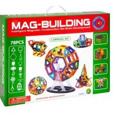 Магнитный конструктор в кор.  78 дет.  0507