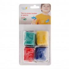 Набор д/т Тесто-пластилин 4 цвета TA1055B