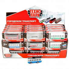 """Модель """"Технопарк""""Автобус/Тролейбус/Вагон РЖД, SB-17-25-CDU"""