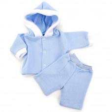 "Одежда для кукол ""Карапуз""костюм голуб., OTF-1705"
