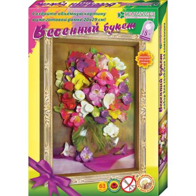 Набор для картины Весенний букет АБ 21-132 Р50240