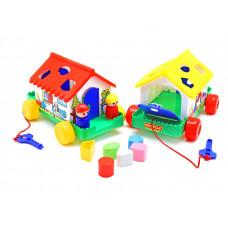 Игровой дом (в сеточке) 6202