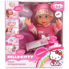 """Пупс """"Карапуз"""" Hello Kitty 25см,пьет, писает, Y25DP-788-RU-HK"""