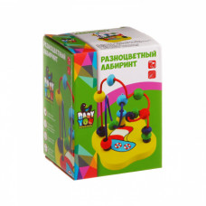 Игр. дерев. разноцветный лабиринт, ВВ1089