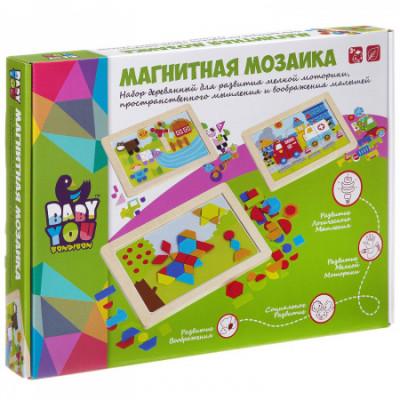 Игр. дерев., магнитная мозаика, ФЕРМА, Bondibon, ВВ2041