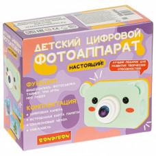 Детский цифровой фотоаппарат «МИШКА» Bondibon, видео, фотосьемка, ВВ4904
