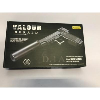 Пистолет пневмат. с глушителем D.1A