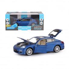 "ТМ ""Автопанорама""  Машинка 1:24 Porsche Panamera S, синий, JB1200117"