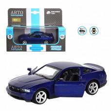 """ТМ """"Автопанорама""""  Машинка 1:43 Ford Mustang GT, синий, JB1200129"""