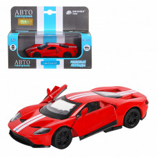 "ТМ ""Автопанорама""  Машинка 1:40 Ford GT, красный, JB1200139"