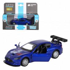 """ТМ """"Автопанорама""""  Машинка 1:43 Maserati Gran Turismo MC GT4, синий, JB1200178"""