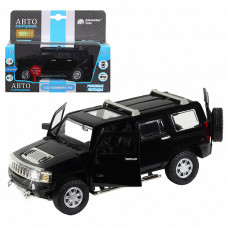 "ТМ ""Автопанорама"" Машинка металл., 1:32 Hummer H3, черный, JB1251156"