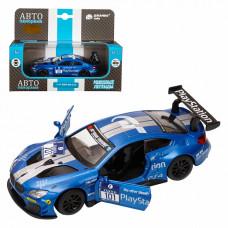 """ТМ """"Автопанорама"""" Машинка металл. 1: 44 BMW M6, синий, JB1251212"""