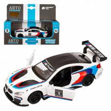 "ТМ ""Автопанорама"" Машинка металл. 1:44 BMW M6, белый, JB1251213"