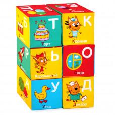 "Мякиши ""Три Кота"" кубики (Алфавит) арт. 472"