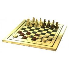 """Игра 2в1 """"Шахматы, шашки"""" арт.С-11а/В-6"""