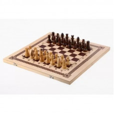 Шахматы, шашки,нарды 3 в 1 арт.ШК-1