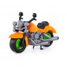 Игрушка мотоцикл гоночный ПОЛЕСЬЕ КРОСС 6232 27.5*12*18см