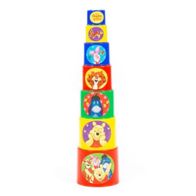 """Занимательная пирамидка Disney """"Винни и его друзья"""" (в сеточке) 76069"""