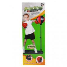 Набор для бокса (груша напольная + перчатки + насос) в кор.  1605S429