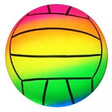 Мяч Волейбол радужный, 22см в пак.  1872703