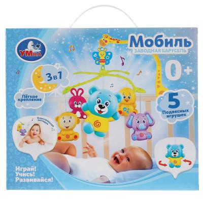 Заводная карусель на кроватку в русс. кор. Умка  B1469014-R-D1