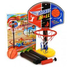 Набор д/игры в баскетбол напольн. 115см, щит 33,5х24,5см картон, мяч 12см, насос B1615159