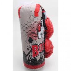 Набор для бокса 52см, груша, перчатки в сетке  B1759673