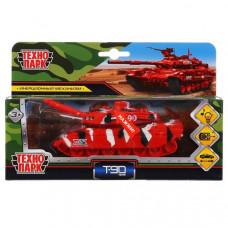 Модель металл Танк T-90 13см,  инерц.,  в кор. Технопарк SB-18-40(SL457)-RE-WB